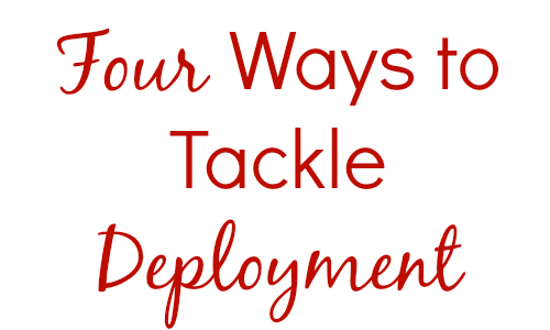 Four Ways to Tackle Deployment