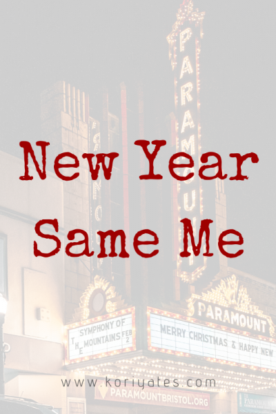 New Year – Same Me